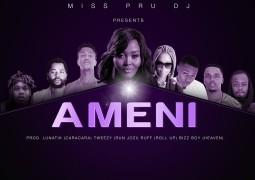 DJ Miss Pru - Ameni Lyrics ft Ft. EMTEE , FiFi COOPER , A-REECE , SJAVA , SAUDI , B3nchMarQ